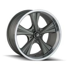 Load image into Gallery viewer, RIDLER 651 GREY/MACHINED LIP - rons-rims-inc