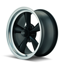 Load image into Gallery viewer, RIDLER 675 MATTE BLACK/MACHINED LIP - rons-rims-inc