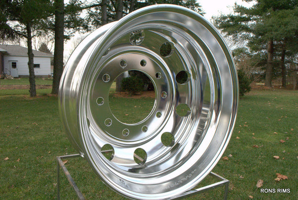 24.5x8.25 ALCOA Dura-Bright® EVO Truck Wheel - Rear 10 on 285.75mm - rons-rims-inc