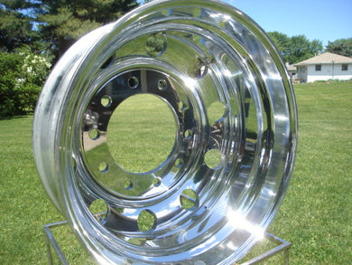 22.5x8.25 ALCOA LVL1 Hub Pilot Polished Both Sides Wheel 10 on 285.75mm - rons-rims-inc