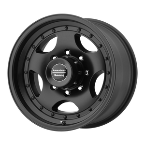 AMERICAN RACING AR23 SATIN BLACK W/ CLEAR COAT - rons-rims-inc