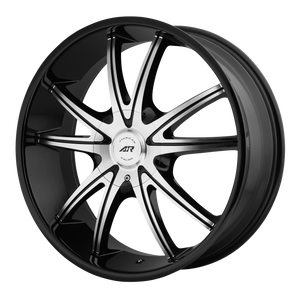 AMERICAN RACING AR897 GLOSS BLACK MACHINED - rons-rims-inc