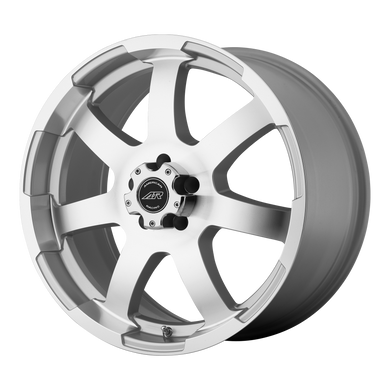 AMERICAN RACING AR899 SILVER W MACHINED FACE - rons-rims-inc