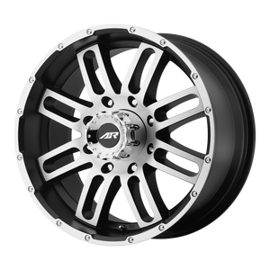 AMERICAN RACING AR901 SATIN BLACK MACHINED - rons-rims-inc