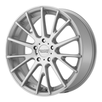 AMERICAN RACING AR904 SILVER MACHINED - rons-rims-inc
