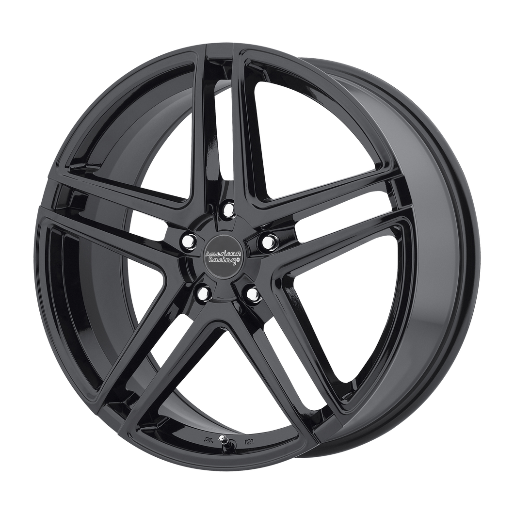 AMERICAN RACING AR907 GLOSS BLACK - rons-rims-inc
