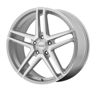 AMERICAN RACING AR907 SILVER MACHINED - rons-rims-inc