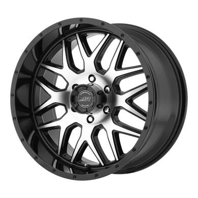 AMERICAN RACING AR910 GLOSS BLACK MACHINED - rons-rims-inc