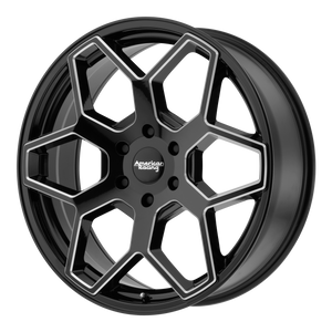 AMERICAN RACING AR916 GLOSS BLACK MILLED - rons-rims-inc