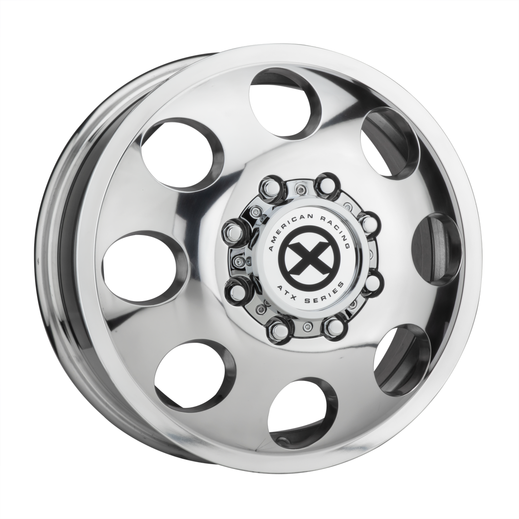 ATX SERIES BAJA DUALLY POLISHED - FRONT - rons-rims-inc
