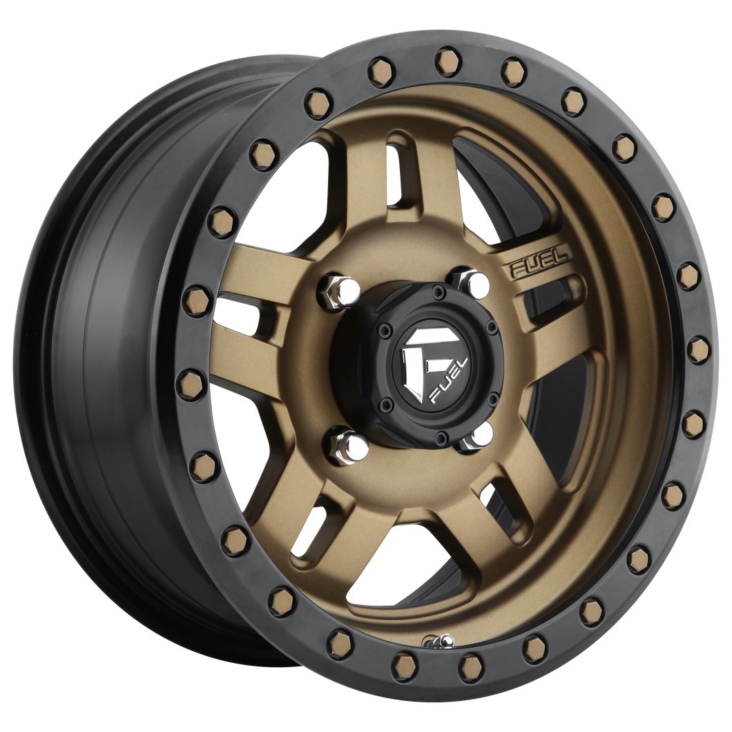 FUEL UTV ANZA 4+3 MATTE BRONZE BLACK BEAD RING