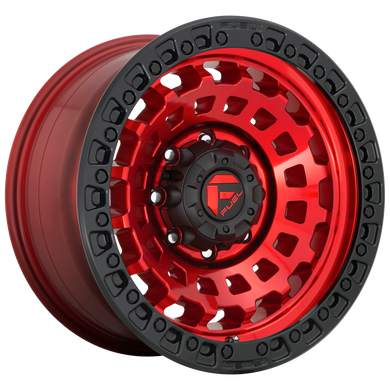FUEL 1PC ZEPHYR CANDY RED BLACK BEAD RING