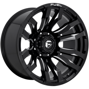FUEL 1PC BLITZ GLOSS BLACK MILLED