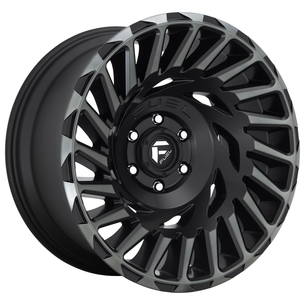 FUEL 1PC CYCLONE MATTE MACHINED DOUBLE DARK TINT