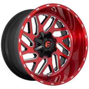 FUEL 1PC TRITON CANDY RED MILLED
