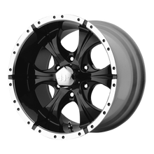 Load image into Gallery viewer, HELO MAXX GLOSS BLACK MACHINED - rons-rims-inc