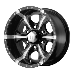 HELO MAXX GLOSS BLACK MILLED - rons-rims-inc