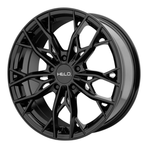 HELO HE907 GLOSS BLACK - rons-rims-inc