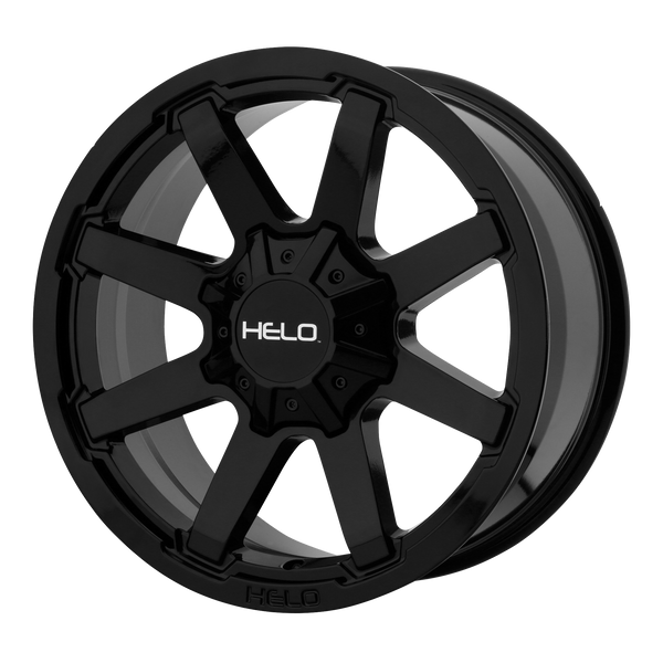 HELO HE909 GLOSS BLACK - rons-rims-inc