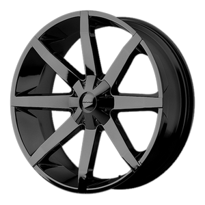 KMC SLIDE GLOSS BLACK - rons-rims-inc