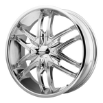 KMC SPLINTER CHROME - rons-rims-inc