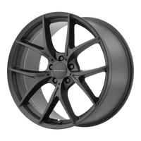KMC WISHBONE SATIN BLACK - rons-rims-inc
