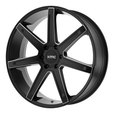 KMC REVERT SATIN BLACK MILLED - rons-rims-inc
