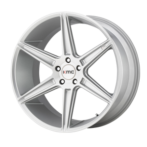 KMC PRISM BRUSHED SILVER - rons-rims-inc