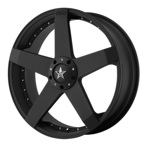 KMC ROCKSTAR CAR MATTE BLACK - rons-rims-inc