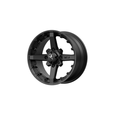 MSA OFFROAD WHEELS BATTLE MATTE BLACK - rons-rims-inc