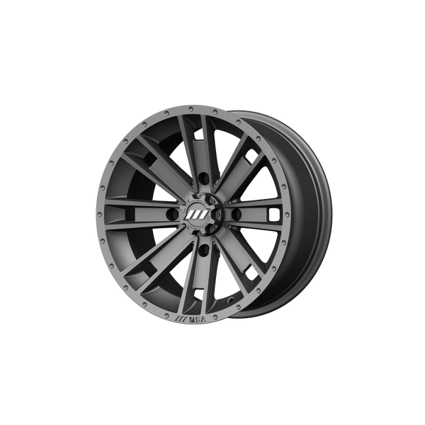 MSA OFFROAD WHEELS AMBUSH GRAPHITE