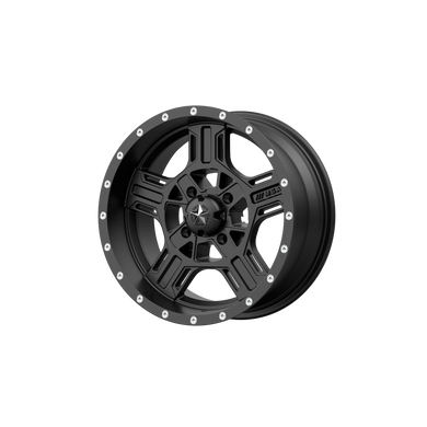 MSA OFFROAD WHEELS AXE SATIN BLACK - rons-rims-inc
