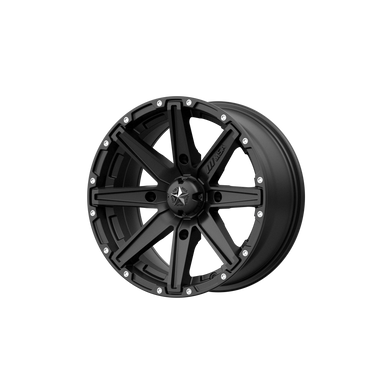 MSA OFFROAD WHEELS CLUTCH SATIN BLACK - rons-rims-inc