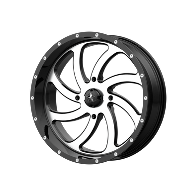 MSA OFFROAD WHEELS SWITCH MACHINED GLOSS BLACK - rons-rims-inc