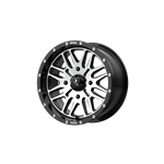 MSA OFFROAD WHEELS BRUTE GLOSS BLACK MACHINED - rons-rims-inc