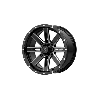 MSA OFFROAD WHEELS BOXER GLOSS BLACK MILLED - rons-rims-inc