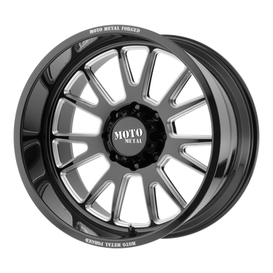 MOTO METAL MO401 GLOSS BLACK MILLED - rons-rims-inc