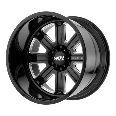 MOTO METAL MO402 GLOSS BLACK MILLED - rons-rims-inc