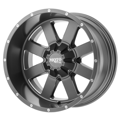 MOTO METAL MO962 SATIN GRAY MILLED - rons-rims-inc