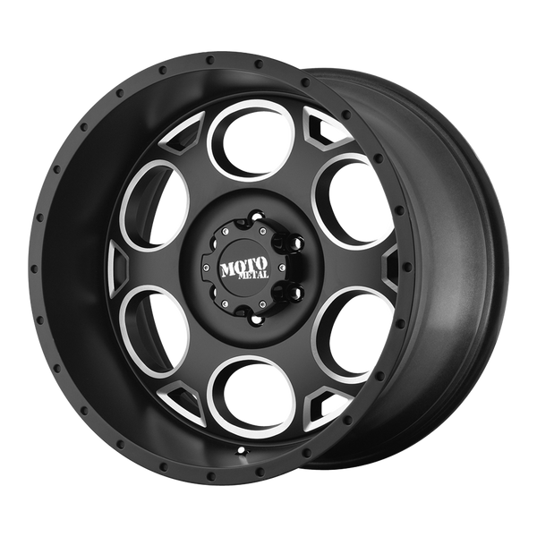 MOTO METAL MO964 SATIN BLACK MILLED - rons-rims-inc