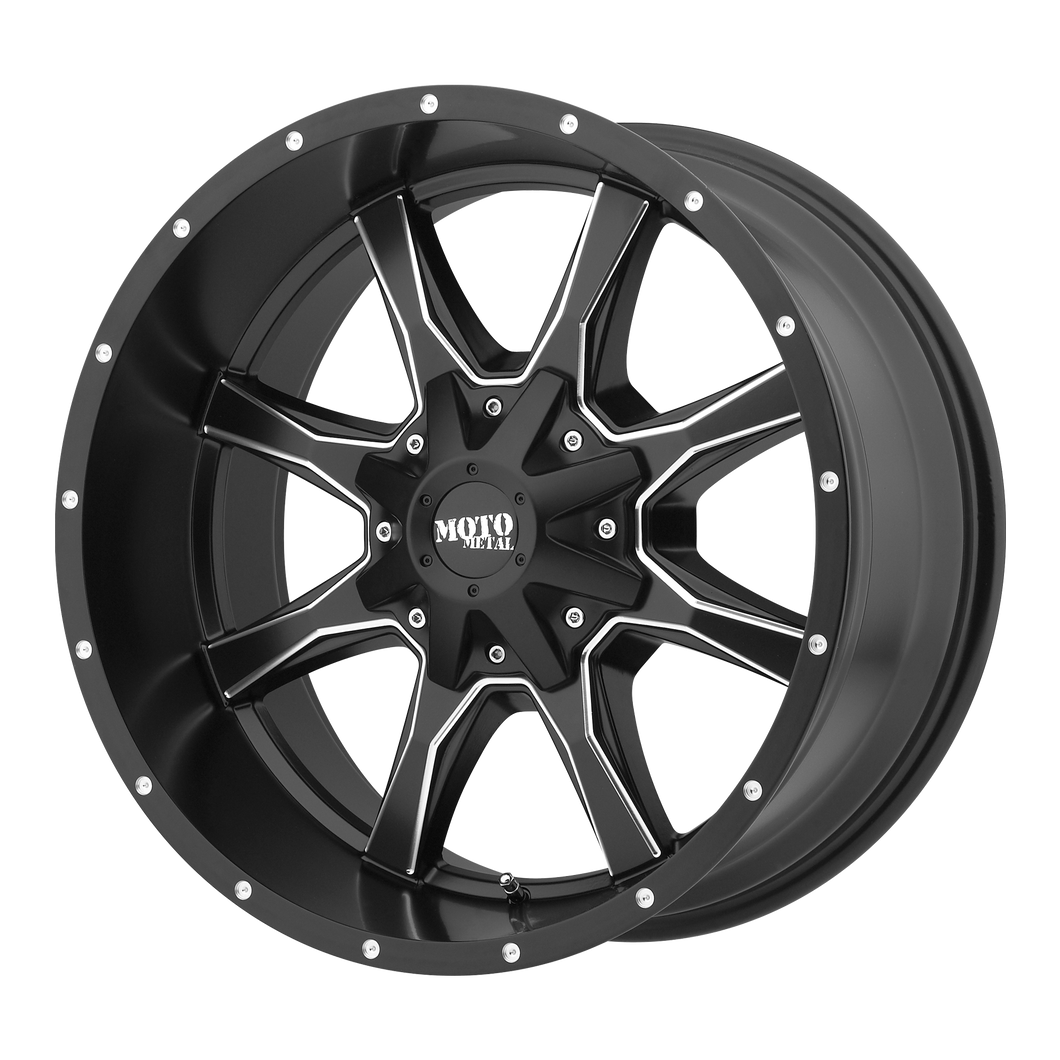 MOTO METAL MO970 SATIN BLACK MILLED - rons-rims-inc