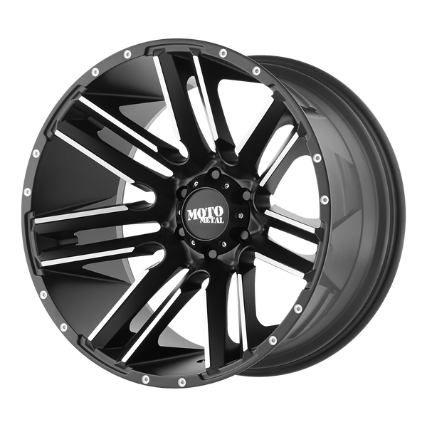 MOTO METAL RAZOR SATIN BLACK MACHINED - rons-rims-inc