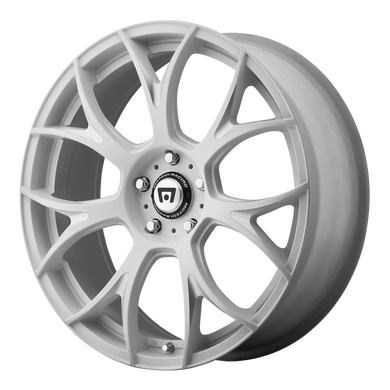 MOTEGI MR126 MATTE WHITE W/ MILLED ACCENTS - rons-rims-inc