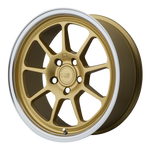 MOTEGI MR135 GOLD CENTER W/ MACHINED LIP - rons-rims-inc