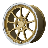 MOTEGI MR135 GOLD CENTER W/ MACHINED LIP