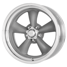 Load image into Gallery viewer, AMERICAN RACING CLASSIC TORQ THRUST II ONE PIECE MAG GRAY W/ MACHINED LIP - rons-rims-inc