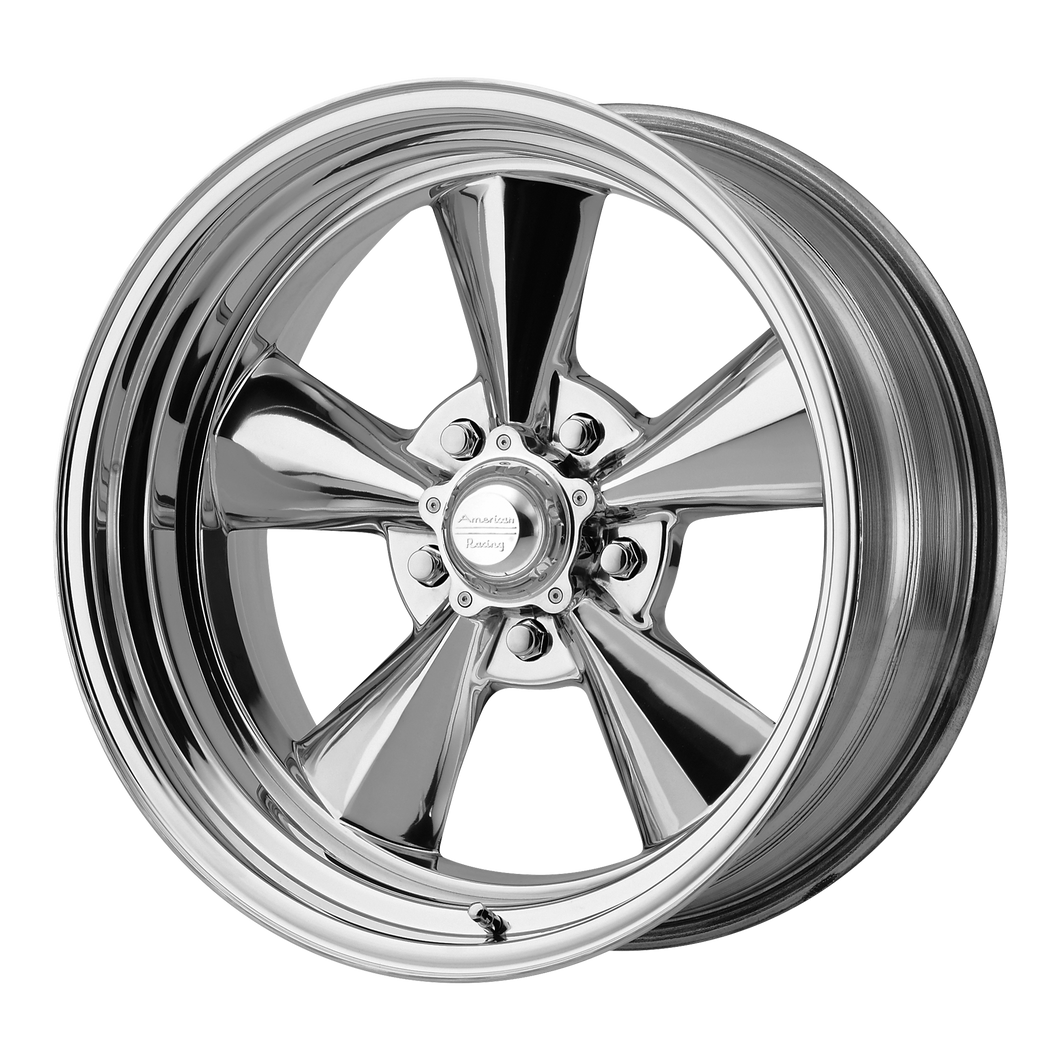 AMERICAN RACING TTO 2 PIECE TWO-PIECE POLISHED - rons-rims-inc