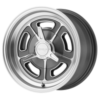 AMERICAN RACING VN502 MAG GRAY MACHINED - rons-rims-inc