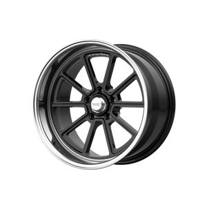 AMERICAN RACING DRAFT GLOSS BLACK W/ DIAMOND CUT LIP - rons-rims-inc