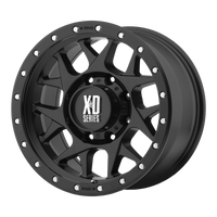 XD SERIES BY KMC WHEELS BULLY SATIN BLACK